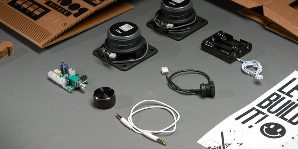 Boombox kit parts