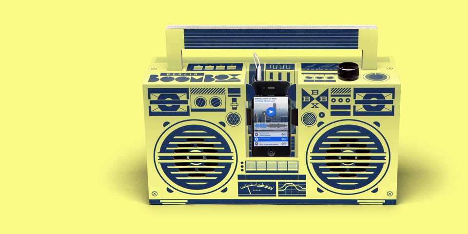 Berlin Boombox Lemon Yellow header
