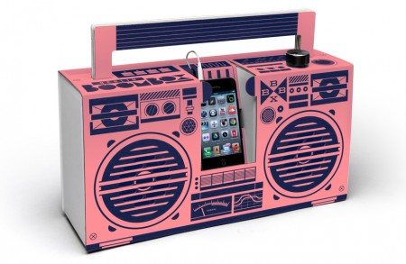 Berlin Boombox Pink