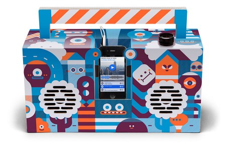 Berlin Boombox Artist Edition by LouLou and Tummie
