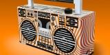Berlin Boombox Bluetooth Speaker with custom design for Wien Energie