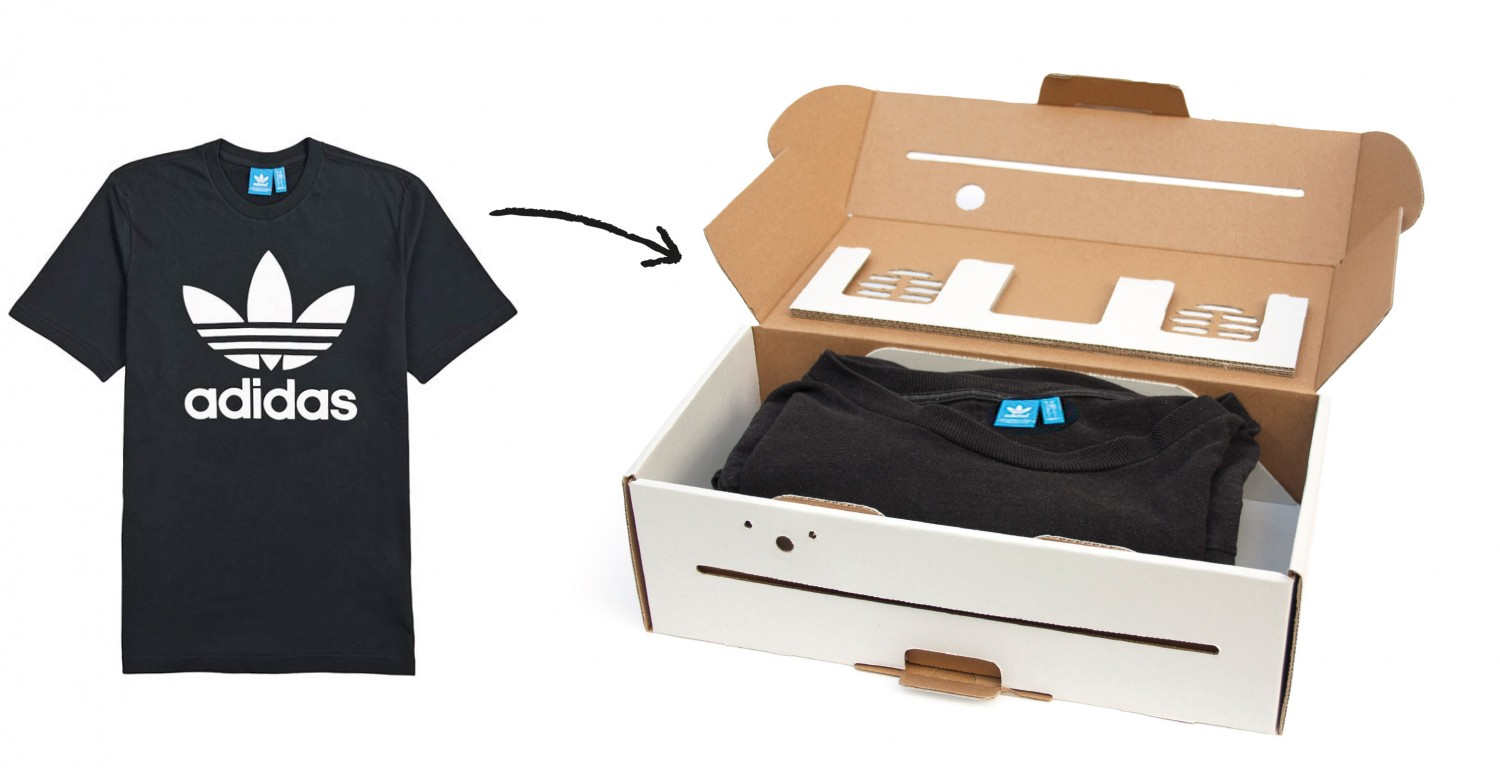 T-Shirt packaged inside a Berlin Boombox Easy