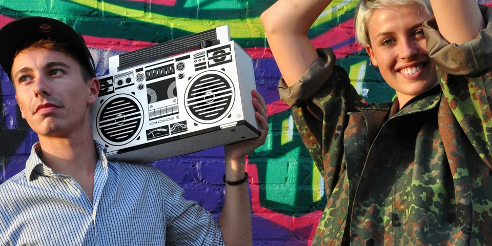 Berlin Boombox Bluetooth Speaker