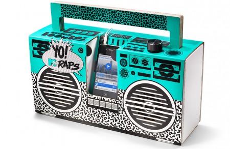 "Yo! MTV Raps Boombox - Design ""Oldschool"""