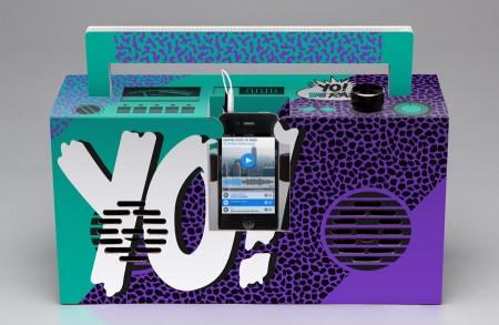 "Yo! MTV Raps Boombox - Design ""Impact"""